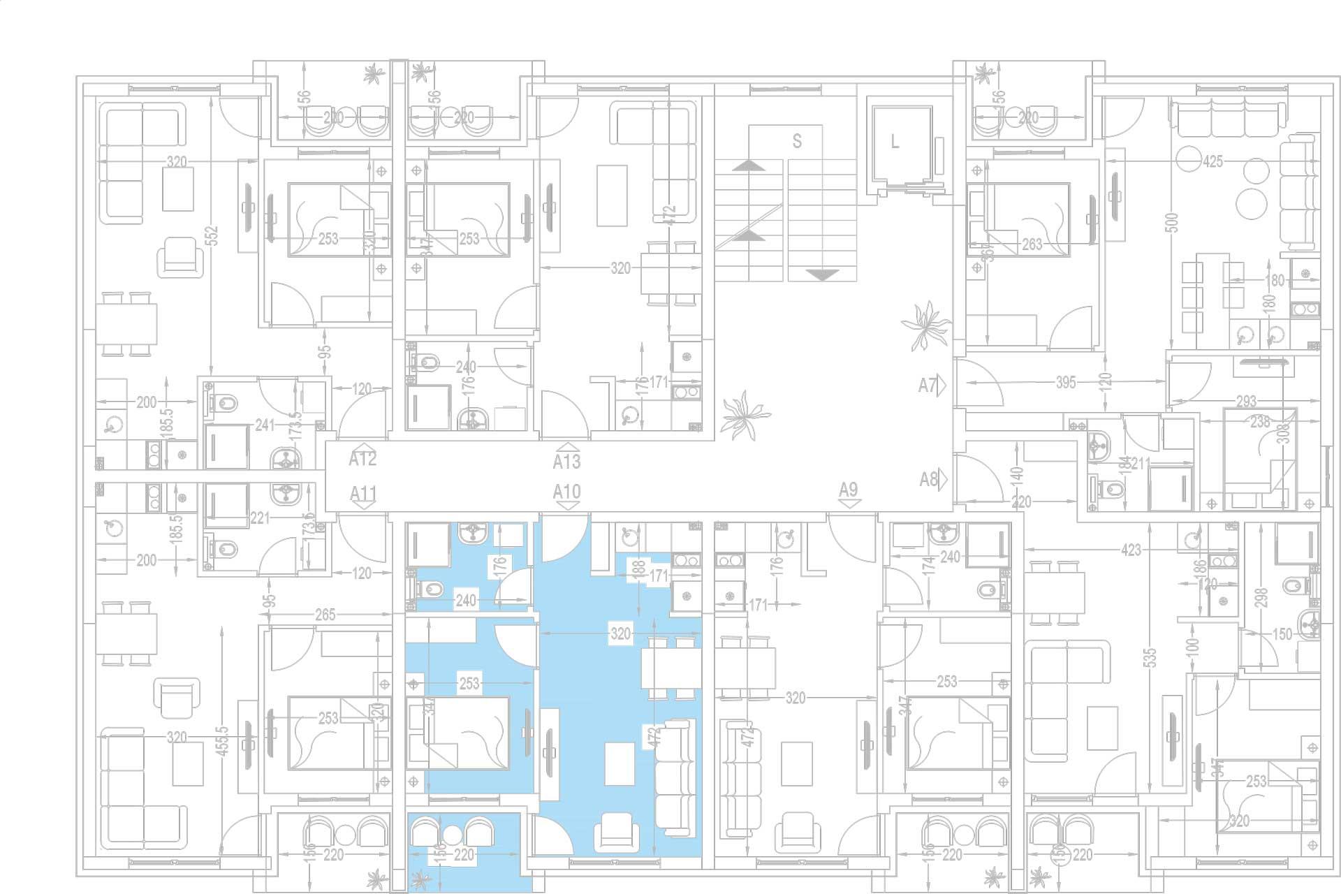 Orjentacija-stambenih-jedinica-A10,-A17,-A24,-A31,-A38,-A45