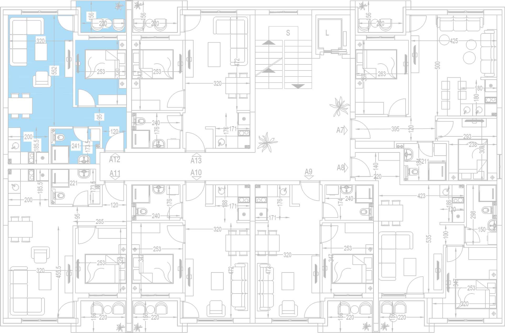 Orjentacija-stambenih-jedinica-A12,-A19,-A26,-A33,-A40,-A47