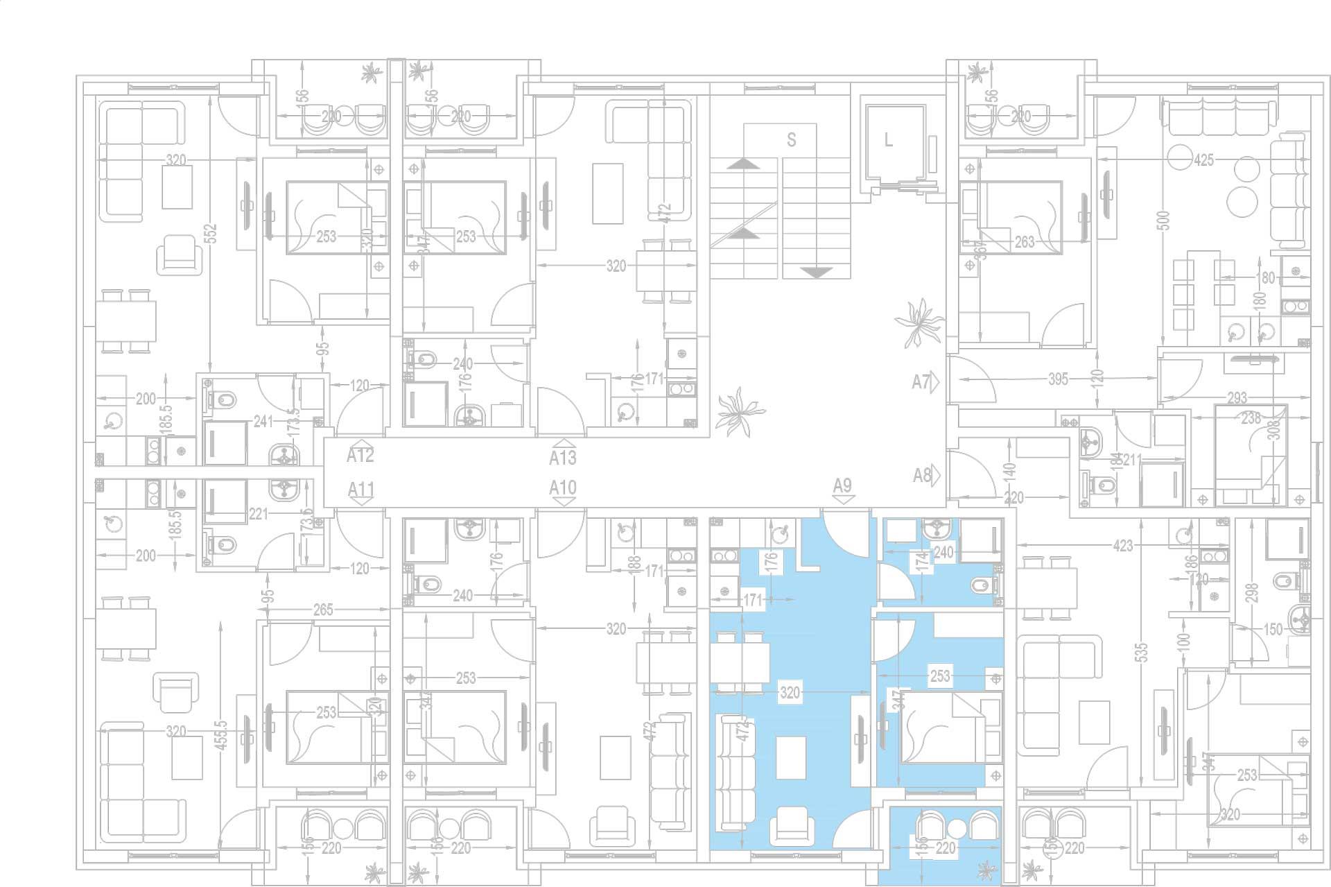 Orjentacija-stambenih-jedinica-A9,-A16,-A23,-A30,-A37,-A44