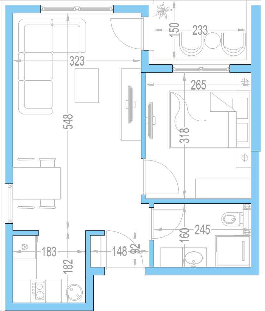 Plan-stambenih-jedinica-15,-27,-39,-51,-63,-75,-87