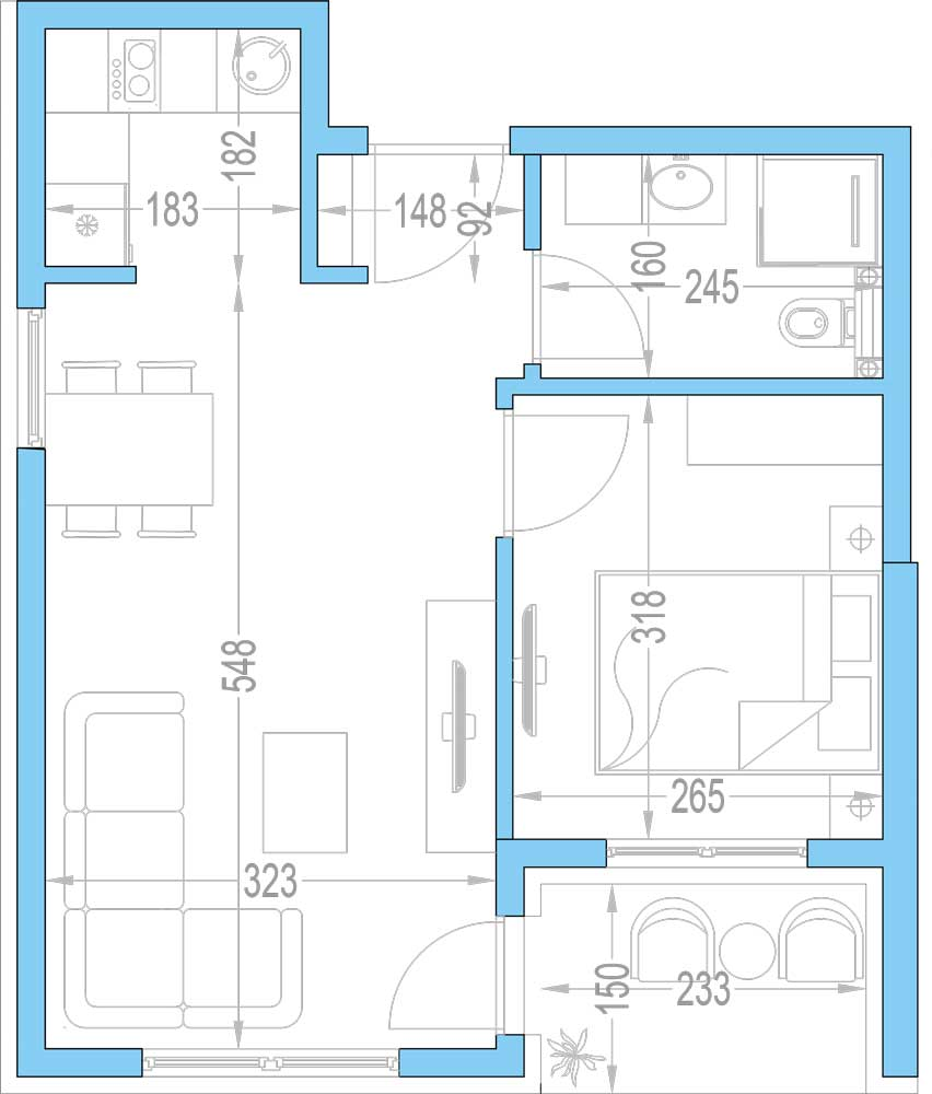 Plan-stambenih-jedinica-16,-28,-40,-52,-64,-76,-88