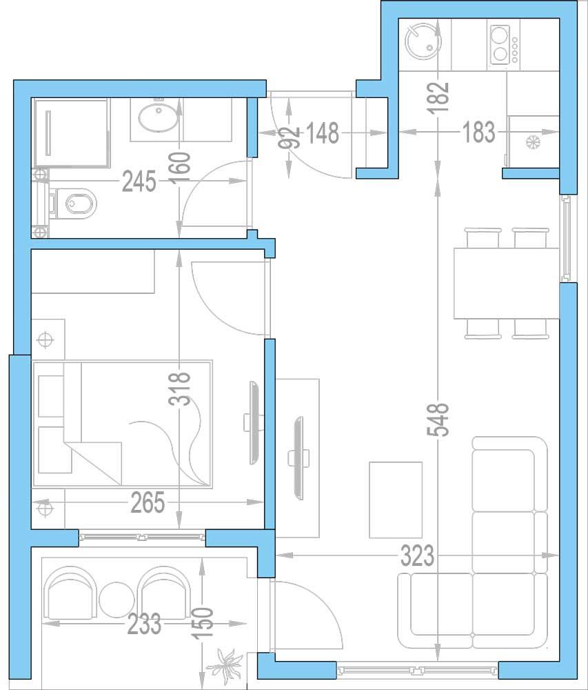 Plan-stambenih-jedinica-8,-21,-33,-45,-57,-69,-81,-93