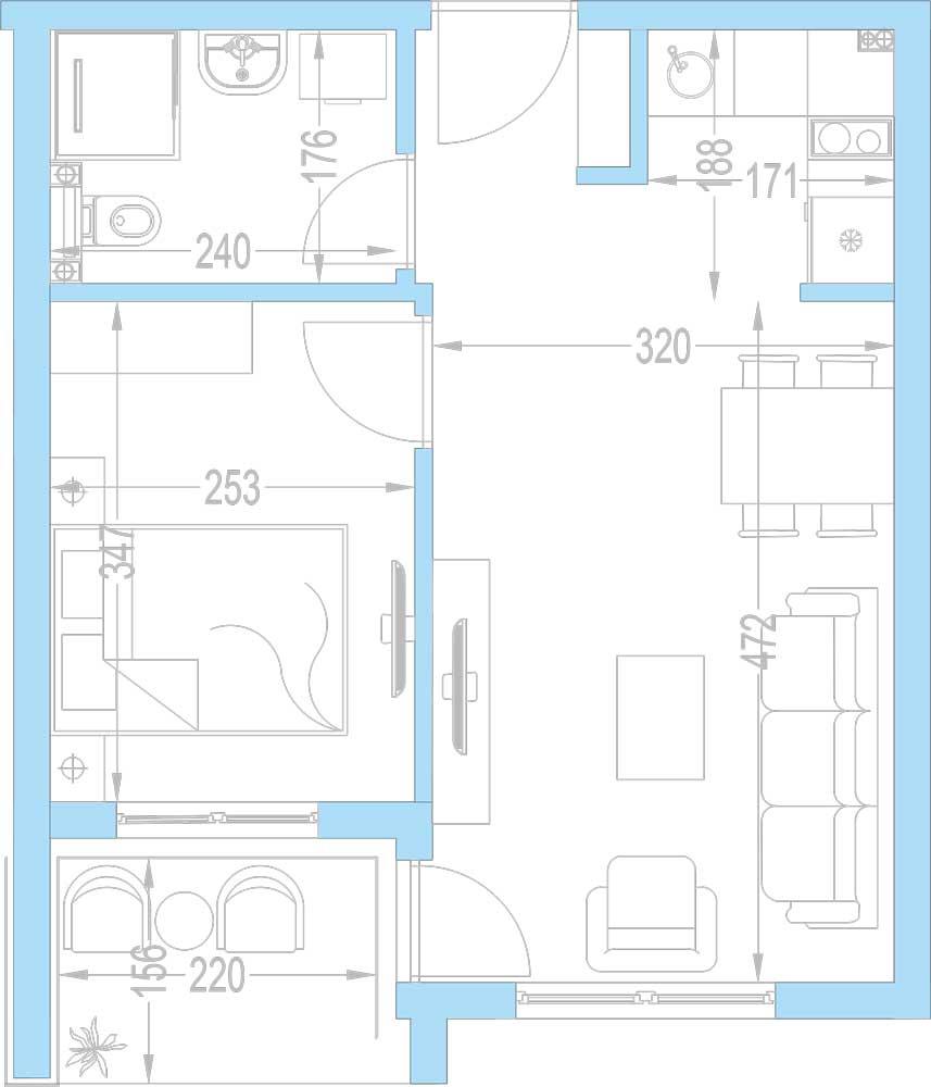 Plan-stambenih-jedinica-A10,-A17,-A24,-A31,-A38,-A45