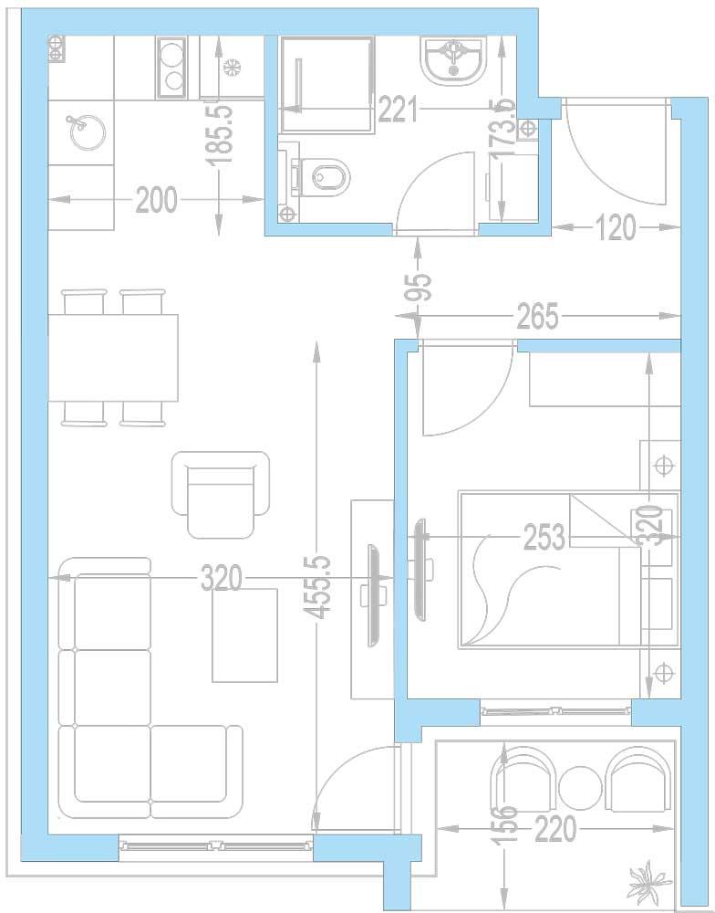 Plan-stambenih-jedinica-A11,-A18,-A25,-A32,-A39,-A46