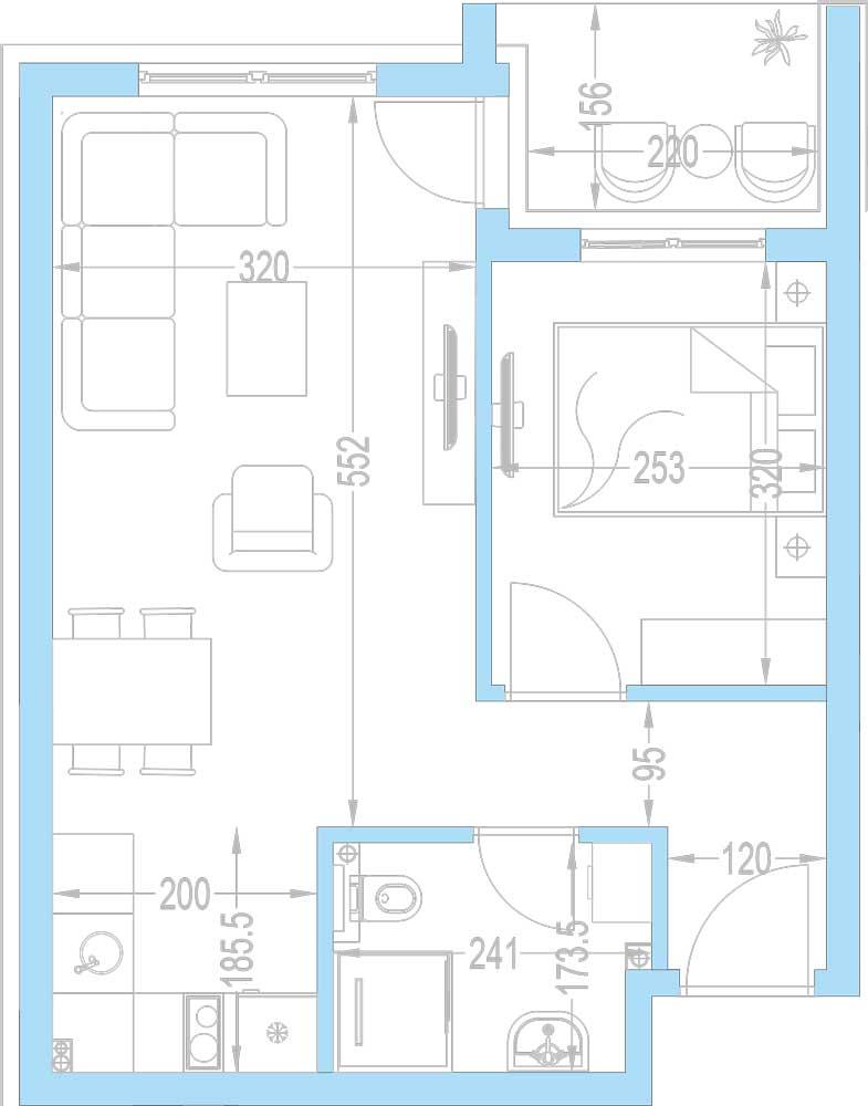 Plan-stambenih-jedinica-A12,-A19,-A26,-A33,-A40,-A47