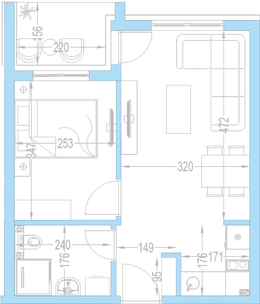 Plan-stambenih-jedinica-A13,-A20,-A27,-A34,-A41,-A48