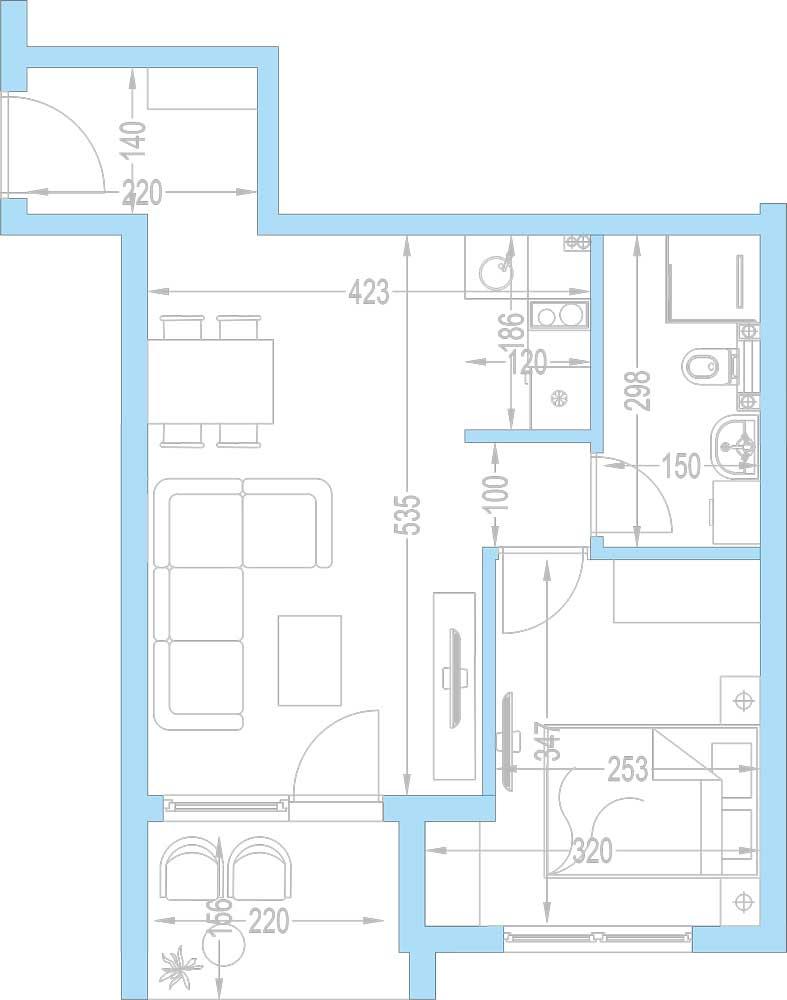 Plan-stambenih-jedinica-A8,-A15,-A22,-A29,-A36,-A43