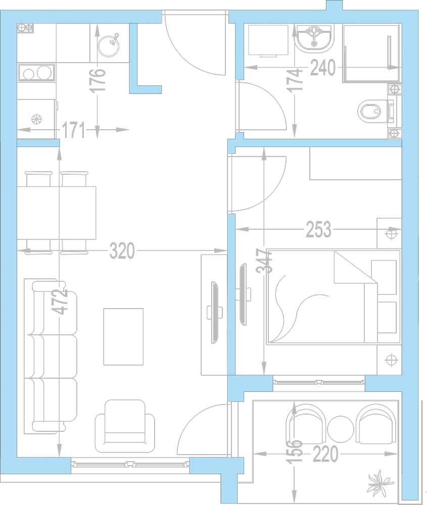 Plan-stambenih-jedinica-A9,-A16,-A23,-A30,-A37,-A44